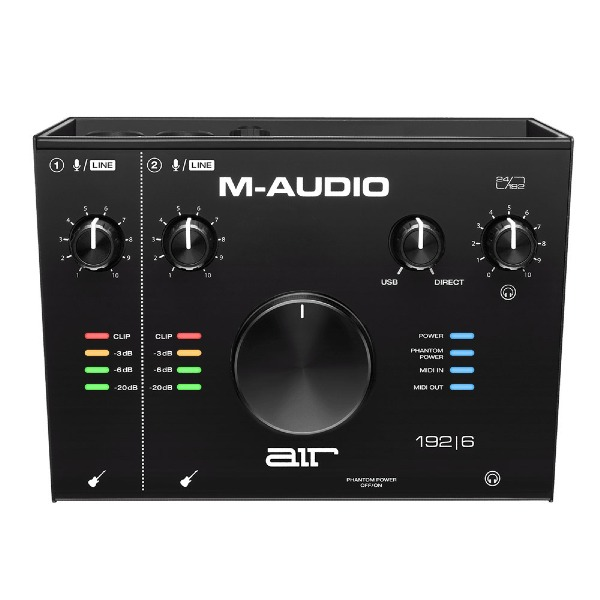 undefined Interface Audio 2 entrées/2 sortie USB Midi M-Audio AIR192X6