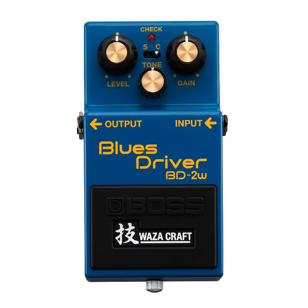 undefined Pédale overdrive Blues Driver, édition Waza Craft BOSS BD-2W