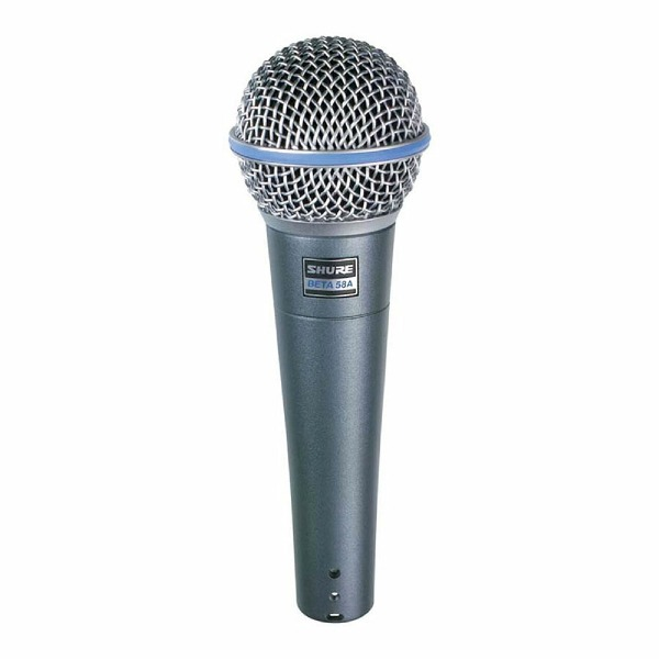 undefined Shure microphone dynamique supercardioïde Beta 58a
