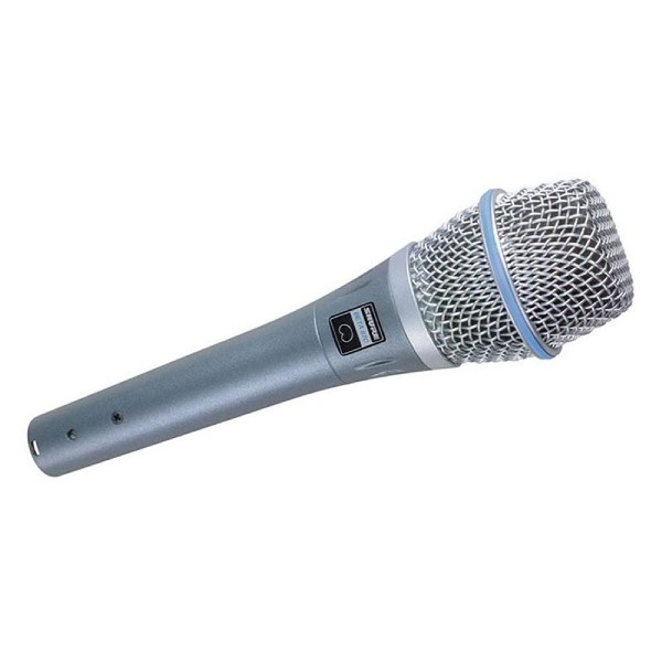 undefined Microphone Condensateur Cardioide Shure