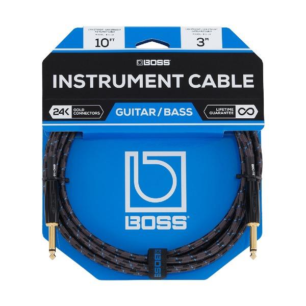 undefined Câble d'instrument à fiches 1/4, 10 pieds BOSS