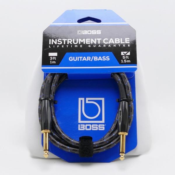 undefined Câble d'instrument à fiches 1/4, 5 pieds BOSS