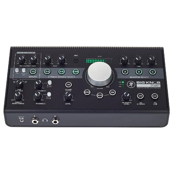 undefined Contrôleur de moniteur 4x3 avec E/S USB/192kHz Mackie Big Knob Studio Plus