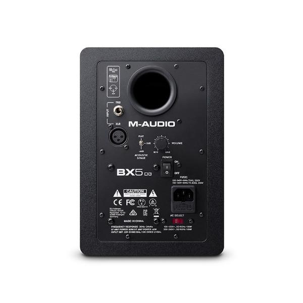 undefined M-Audio BX5 D3 Moniteur de référence de studio amplifié de 5 po
