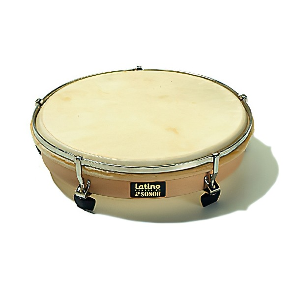 """undefined Tambourine à main 10"""" avec maillet Sonor CGHD10N"""