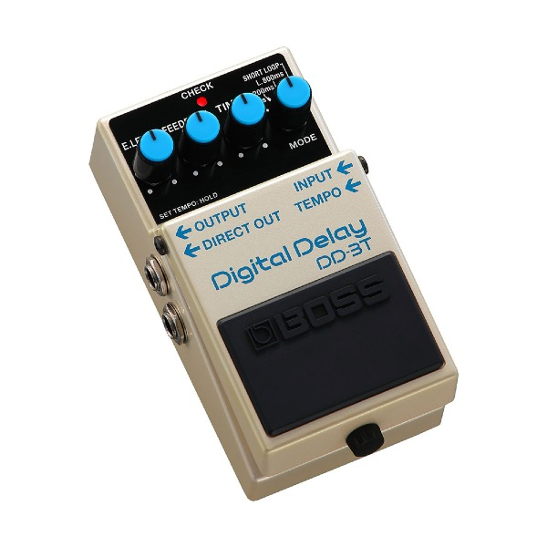 undefined Délai numériques avec Tap Tempo BOSS DD-3T