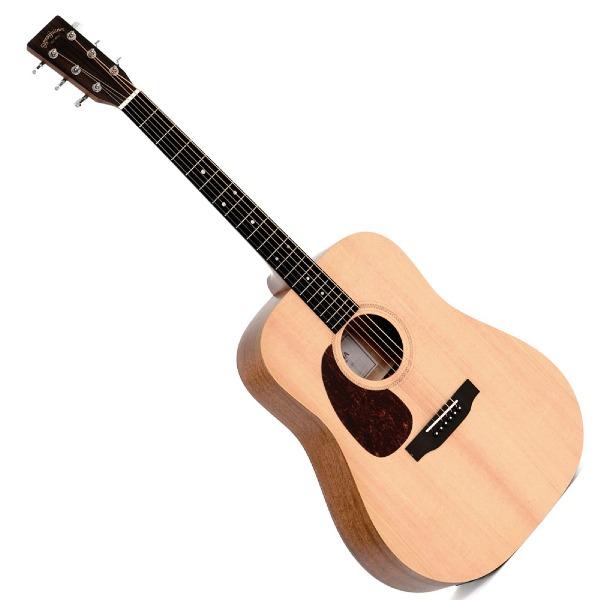 undefined Guitare Acoustique Gauchère - Naturelle Sigma DMEL+