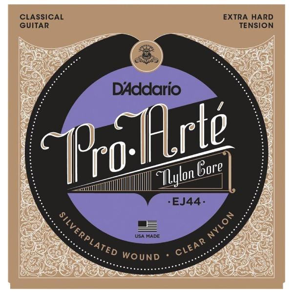 undefined Cordes guitare classique Pro Arte Argent/Clair/Extra fort D'Addario EJ44