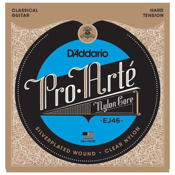 undefined Cordes guitare classique Pro Arte Argent/Clair tension forte D'Addario EJ46