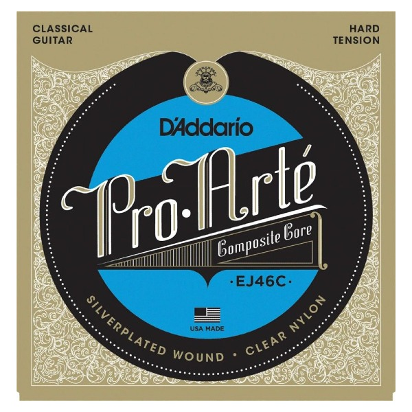 undefined Cordes guitare classique Pro Arte Composite tension forte D'Addario EJ45C