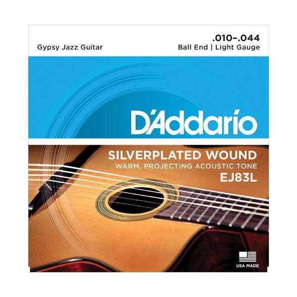 undefined Cordes D'Addario EJ83L - Gypsy Jazz Léger 10-44