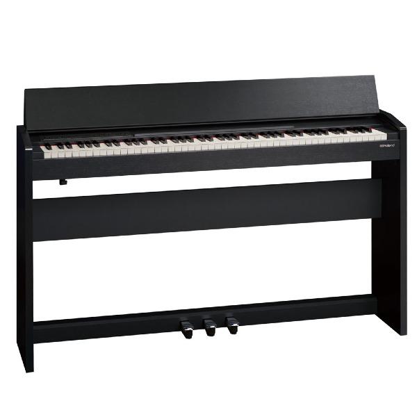 undefined Piano 88 notes avec base et pédale noir Roland F-140R-CB