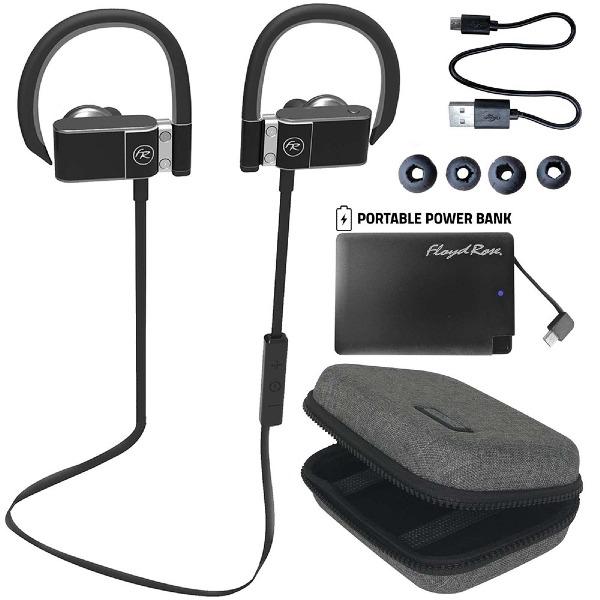 undefined Écouteurs intra-auriculaire bluetooth noir FLOYD ROSE FR360BK