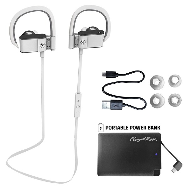 undefined Écouteurs Bluetooth blanc Floyd Rose FR360WH
