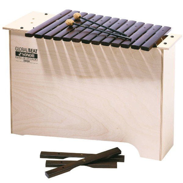 undefined Xylophone basse diatonique Global Beat Sonor Orff GBX-GB