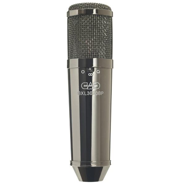 undefined Microphone de studio à condensateur multi-modèle CAD AUDIO, finition chromée noire perlée