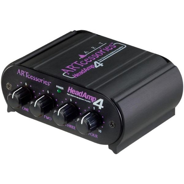undefined Ampli d'écouteurs 4 canaux ART HEADAMP4