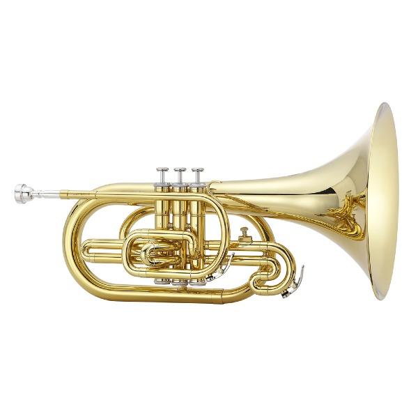 undefined Mellophone de fanfare en brass Avec étuit et embouchure JUPITER JMP1000M