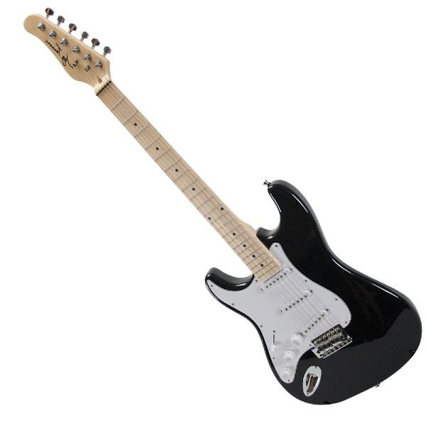 undefined Guitare électrique gauchère noir Jay Turser JT-100-LH-BK
