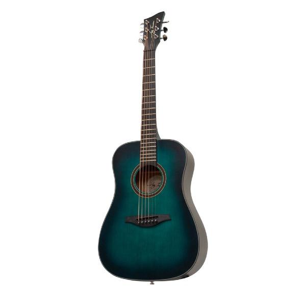 undefined Guitare acoustique 3/4 bleu satin Jay Turser JTA53-SBL