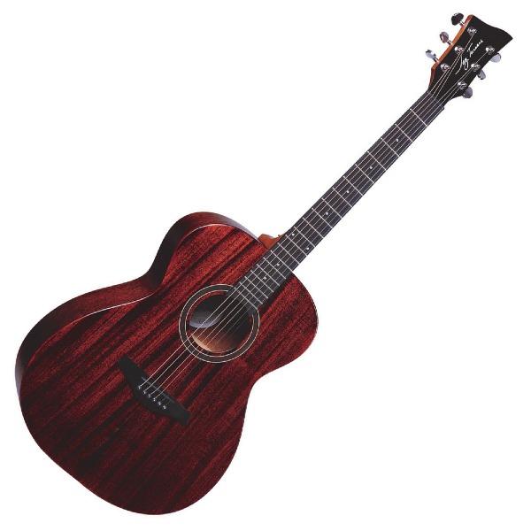 undefined Guitare acoustique à 6 cordes Jay Turser Style Folk  - Acajou Satiné Naturel