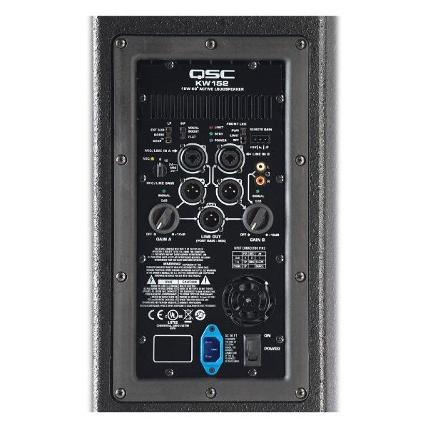 undefined Haut-parleur/moniteur QSC actif à 2 voies 1000W 15 po