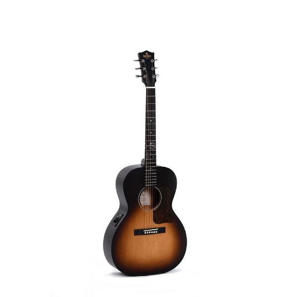 undefined Guitare Acoustique Sigma LM-SGE+ de type Parlor
