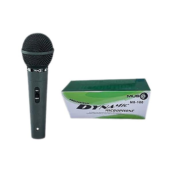 undefined Microphone dynamique pour vocal avec fil MUSIC 8 M8-100