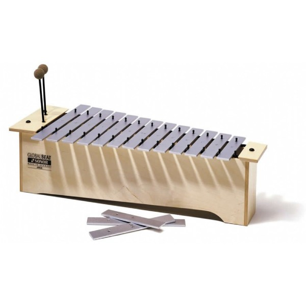 undefined Métallophone alto serie global beat avec maillets Sonor Orff MA-GB-INT