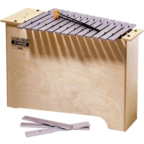 undefined Métallophone basse profonde serie global beat avec maillets Sonor Orff MGB-GB-INT