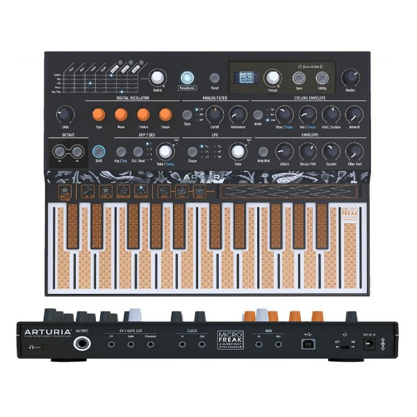 undefined Synthétiseur MicroFreak Hybride 25 touches Arturia
