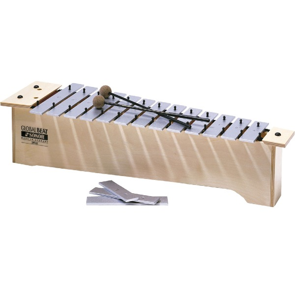 undefined Metallophone soprano serie global beat avec maillets SONOR MS-GB-INT