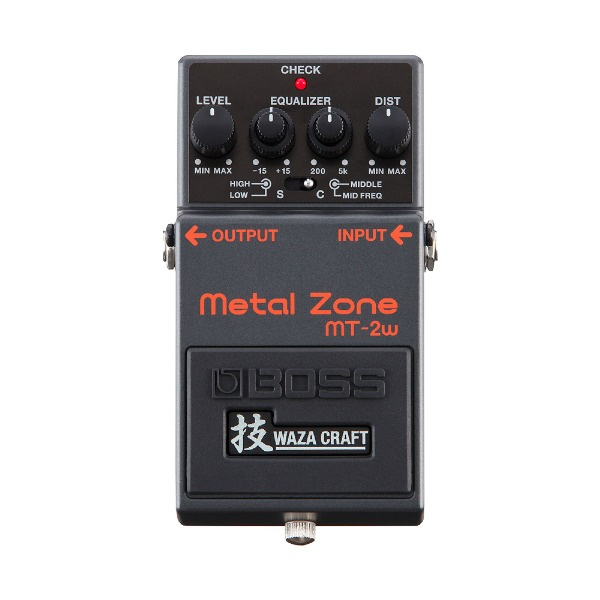undefined Pédale de Distorsion Metal Zone Waza Craft Boss MT-2W