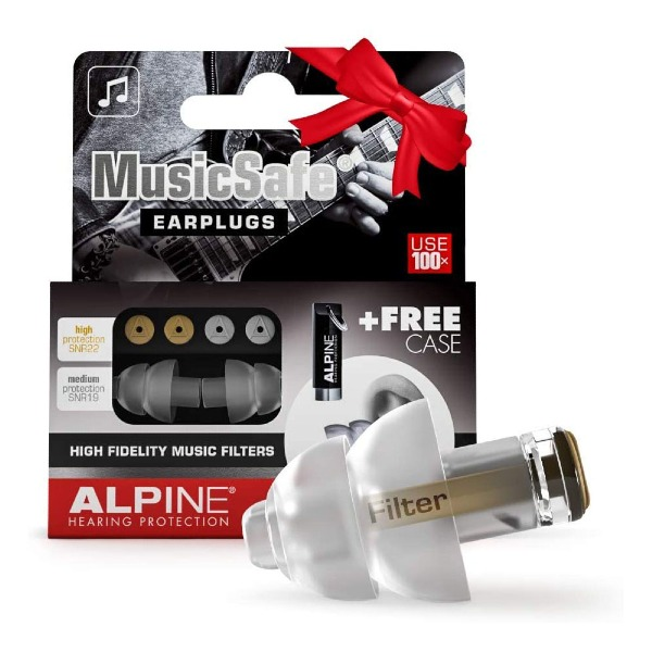 undefined Protection Auditive professionnelle pour Musicien - Alpine MusicSafe Classic