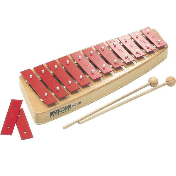 undefined Glockenspiel soprano avec maillets Sonor Orff NG10