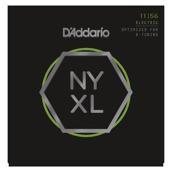 undefined Cordes guitare électrique en nickel, grosseur hybride 11-56 D'Addario NYXL1156