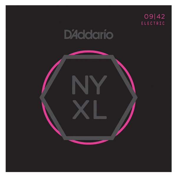 undefined Cordes guitare électrique en nickel 9-42 D'Addario NYXL0942
