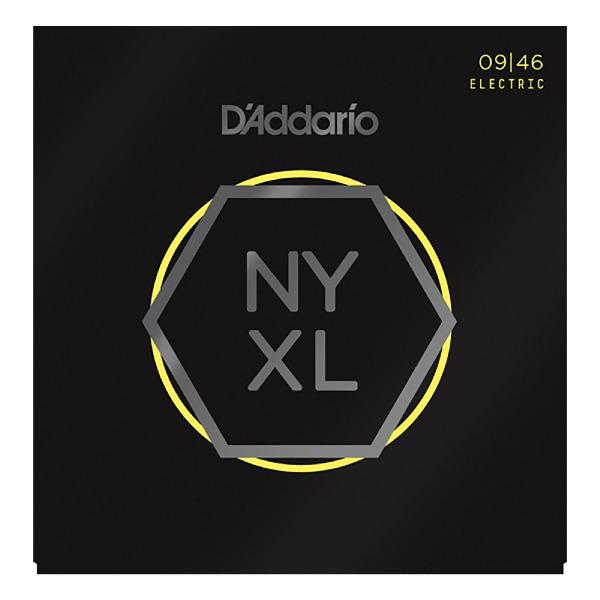 undefined Cordes guitare électrique en nickel grosseur hybride 09-46 D'Addario NYXL946