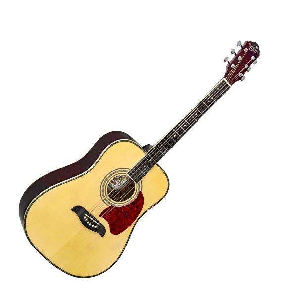 undefined Guitare Acoustique Oscar Schmidt OG2-N A Dreadnought 6-cordes - Natural