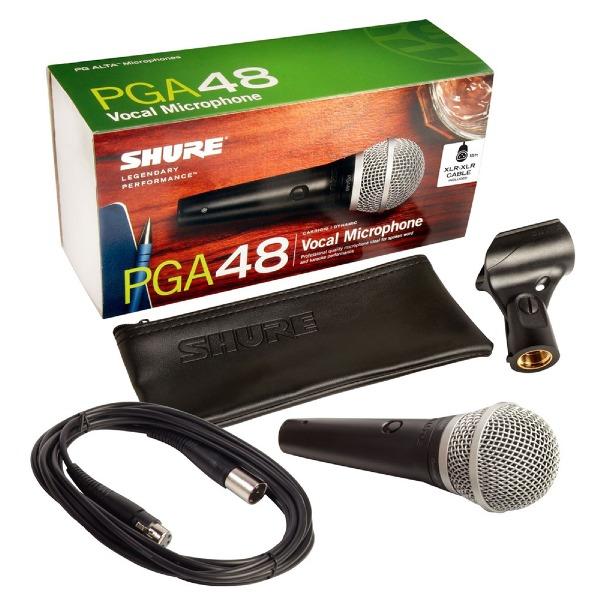 undefined Microphone Shure PGA48 avec cable XLR