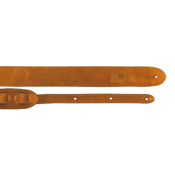 undefined Courroie de guitare en suède rouille 2 pouces - Profile