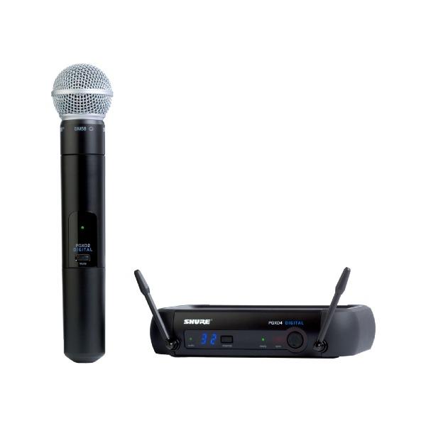 undefined Système de microphone sans fil SHURE PGXD24/SM58