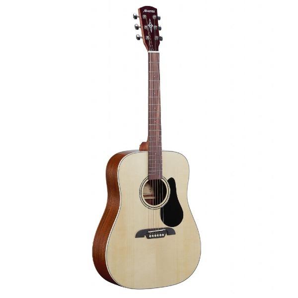 undefined Guitare acoustique dreadnought Épicea avec étuis souble Alvarez RD26