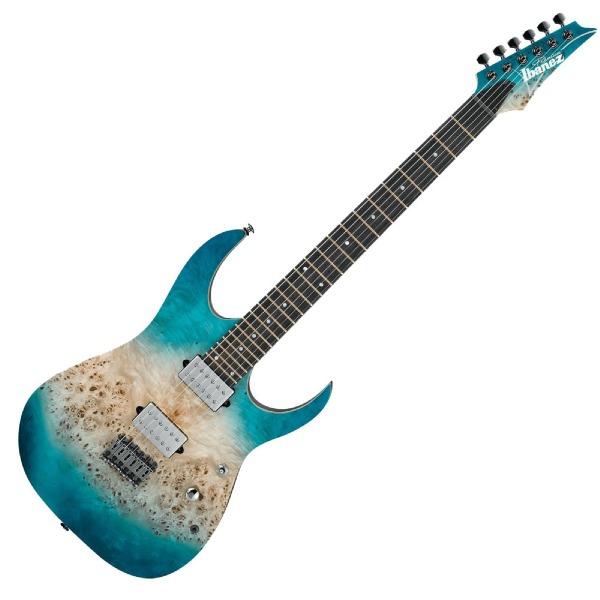 undefined Guitare Électrique Premium RG avec étuis souple Caribbean Islet Flat Ibanez RG1121PB-CIF