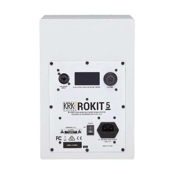 undefined Moniteur amplifiée KRK Rokit G4 5''  blanc