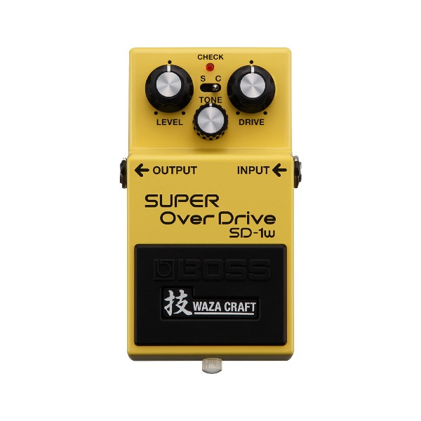 undefined Pédale super overdrive, édition Waza Craft BOSS SD-1W