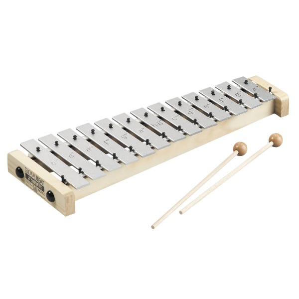 undefined Glockenspiel soprano Global - 16 barres - C3-A4 Sonor Orff