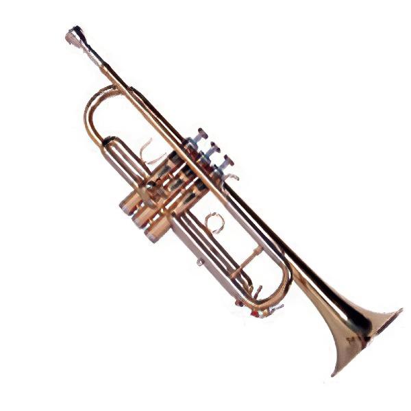 undefined Trompette *Bb/Si bémol* en laiton vernis Sinclair STR2500