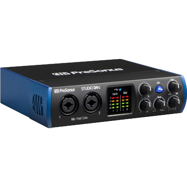 undefined Interface audio USB-C Studio 24C 2x2 PRESONUS STUDIO 24C