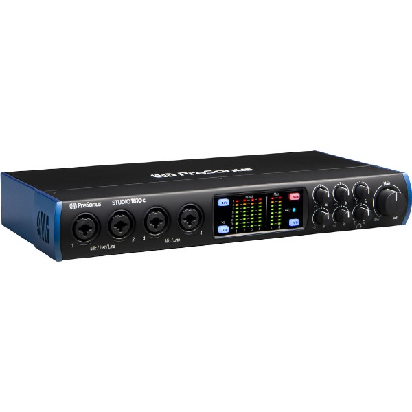 undefined PreSonus Interface audio Studio 1810c 18 entrées / 8 sorties 192 kHz  USB-C